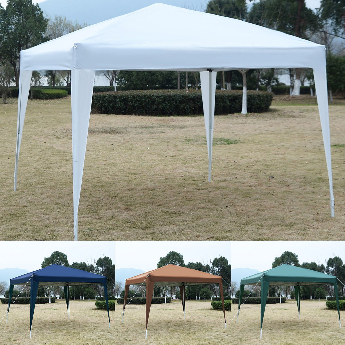 10 X 10 Ez Pop Up Canopy Tent Gazebo
