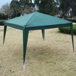 10 x 10 EZ Pop Up Canopy Tent Green 2