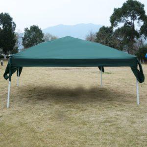 10 x 10 EZ Pop Up Canopy Tent Green 3