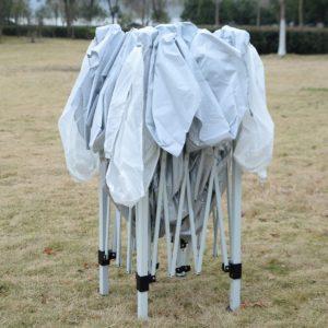 10 x 10 EZ Pop Up Canopy Tent White 2