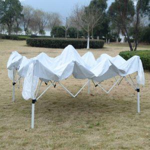 10 x 10 EZ Pop Up Canopy Tent White 3