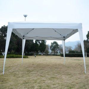 10 x 10 EZ Pop Up Canopy Tent White