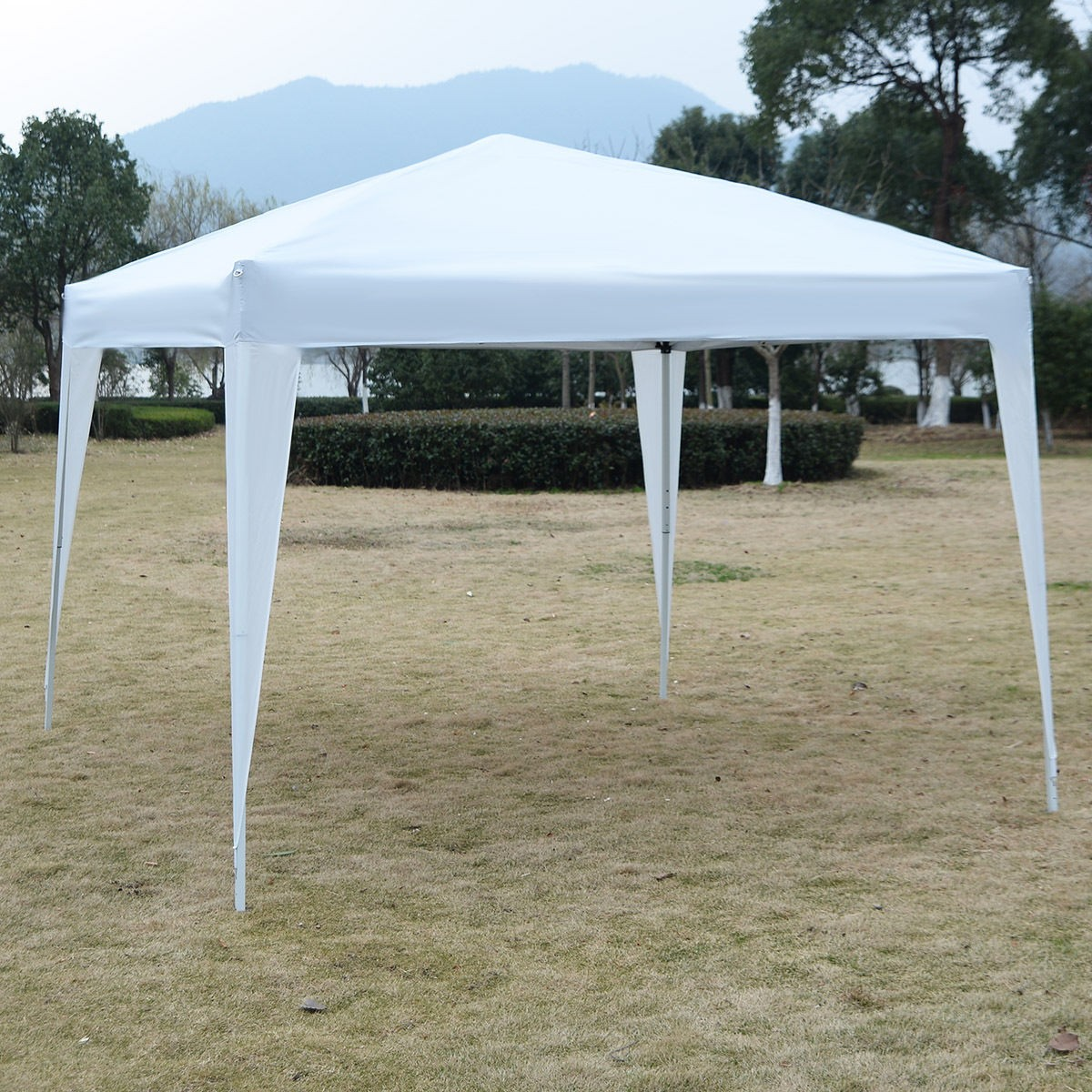 & 10 x 10 EZ Pop Up Canopy Tent Gazebo