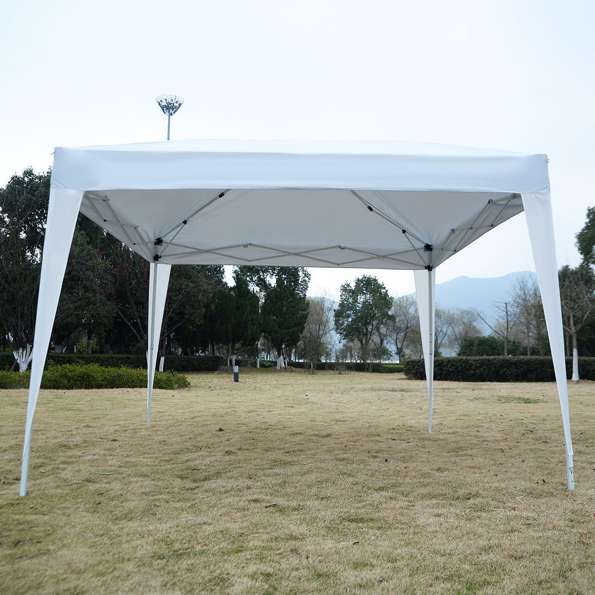 10 x 10 EZ Pop Up Canopy Tent White & 10 x 10 EZ Pop Up Canopy Tent Gazebo