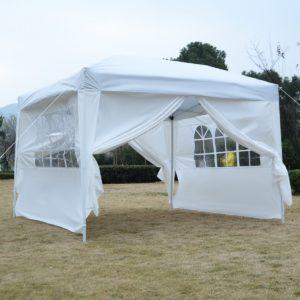 10 x 10 EZ Pop Up Tent Canopy White 2