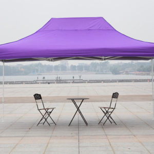 10 x 15 Commercial Pop Up Tent Canopy - Purple