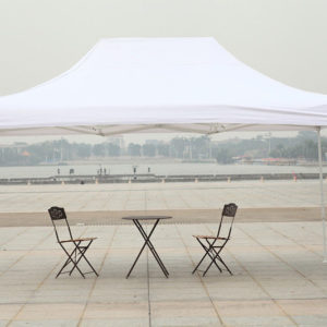 10 x 15 Commercial Pop Up Tent Canopy - White