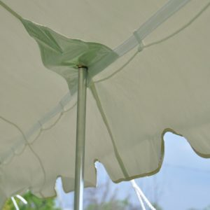 20 x 20 Pole Tent Canopy TOP ONLY 2