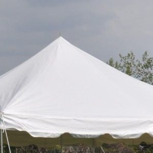 20 x 20 Pole Tent Canopy TOP ONLY