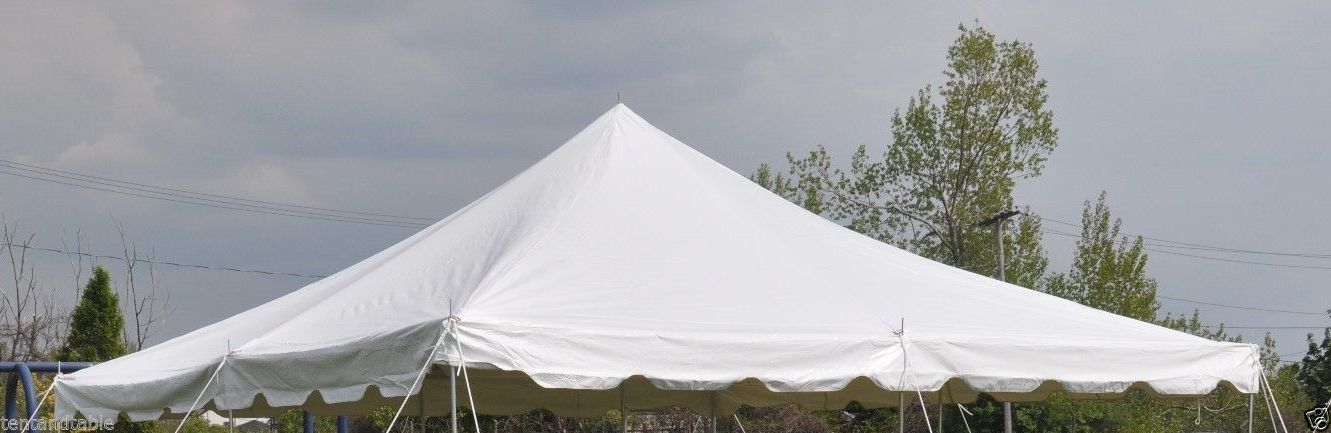 20 X 20 Pole Tent Canopy Top