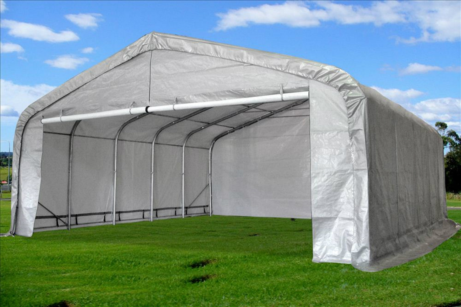 Aluminum Portable Canopy : Carport portable garage canopy