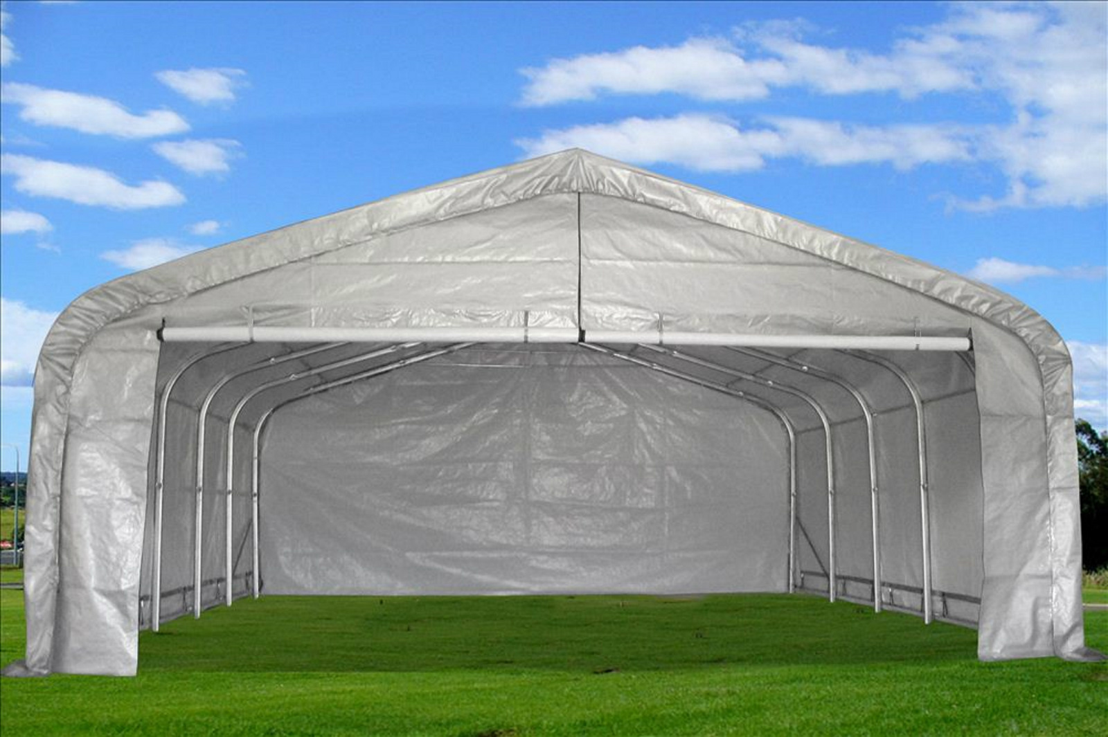 Canopies And Tarps : Carport portable garage canopy