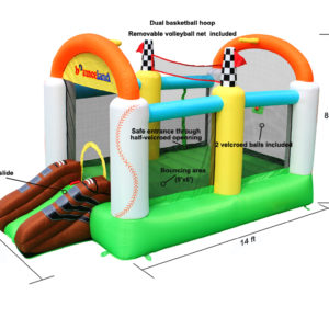 All Sports Bounce House Inflatable Bouncer 3