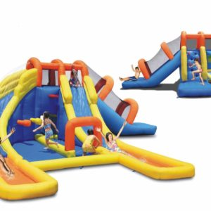 Big Splash Dual Water Slide Bounce House Pool Water Park 2