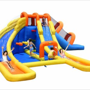 Big Splash Dual Water Slide Bounce House Pool Water Park