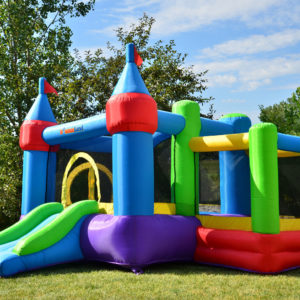 Dream Castle Bounce House Inflatable Bouncer 2