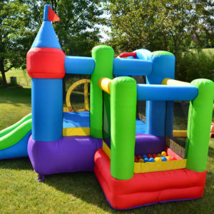 Dream Castle Bounce House Inflatable Bouncer 3