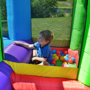 Dream Castle Bounce House Inflatable Bouncer 4