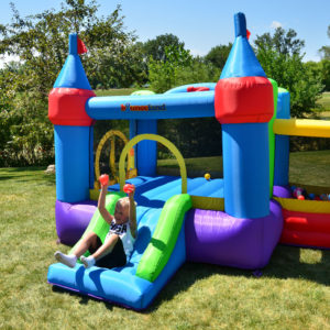 Dream Castle Bounce House Inflatable Bouncer 5