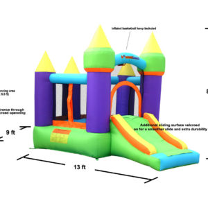 Magic Bounce House Inflatable Bouncer 2