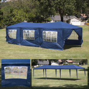 10 x 30 Dark Blue Party Tent Canopy