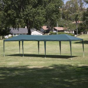 10 x 30 Dark Green Party Tent Canopy Gazebo 2