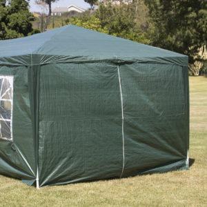 10 x 30 Dark Green Party Tent Canopy Gazebo Side