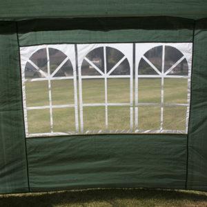 10 x 30 Dark Green Party Tent Canopy Gazebo Window