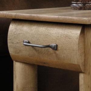 2 - Sauder Furniture Boone Mountain Log Cabin End Tables - 416561 Pair 2