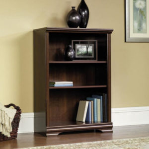 3 Shelf Adjustable Bookcase - Cherry 3