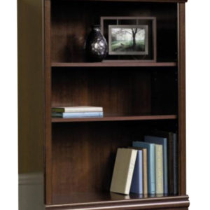 3 Shelf Adjustable Bookcase - Cherry