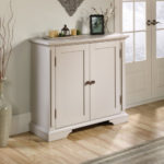 Accent Storage Cabinet - Cobblestone White