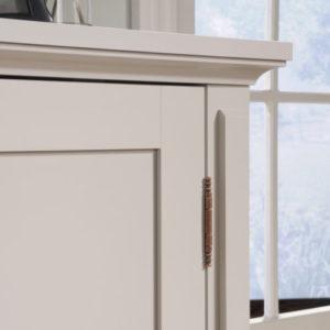 Accent Storage Cabinet - Cobblestone White 3