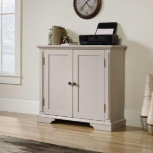 Accent Storage Cabinet - Cobblestone White 4