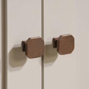 Accent Storage Cabinet - Cobblestone White 6
