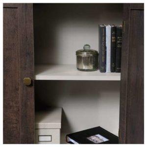 Accent Storage Cabinet - Coffee Oak 2