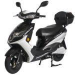 Cabo Cruiser 600 Watt Electric Scooter Moped - Black