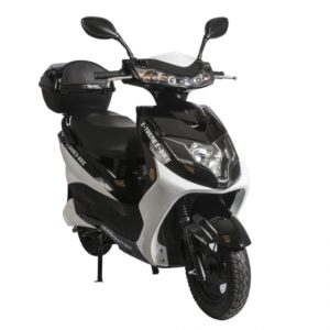 Cabo Cruiser 600 Watt Electric Scooter Moped - Black 2