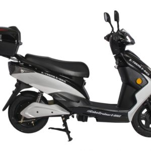 Cabo Cruiser 600 Watt Electric Scooter Moped - Black 4