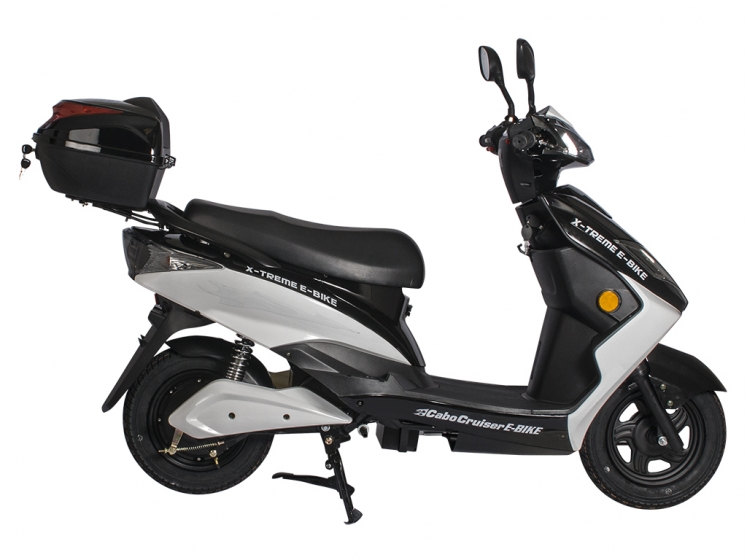 cabo cruiser 600 watt electric scooter moped bicycle. Black Bedroom Furniture Sets. Home Design Ideas