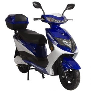 Cabo Cruiser 600 Watt Electric Scooter Moped - Blue 2