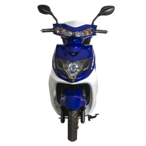 Cabo Cruiser 600 Watt Electric Scooter Moped - Blue 5