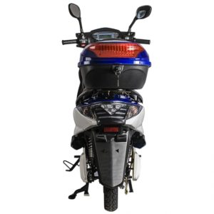Cabo Cruiser 600 Watt Electric Scooter Moped - Blue 6