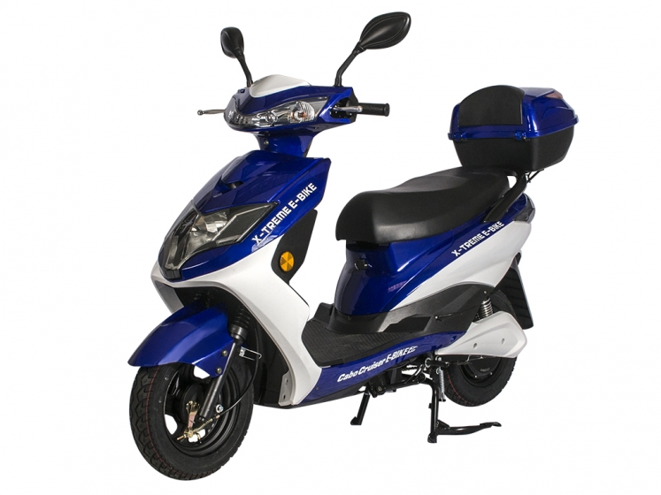 Cabo Cruiser 600 Watt Electric Scooter Moped Bicycle ...