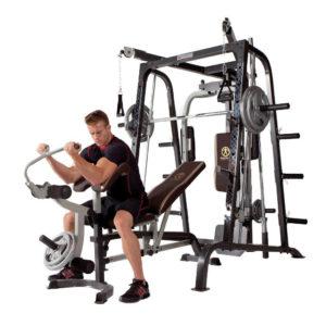 Deluxe Diamond Elite Smith Cage Total Body Gym 1