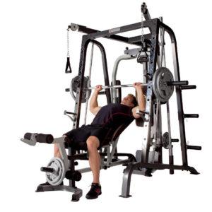 Deluxe Diamond Elite Smith Cage Total Body Gym 3