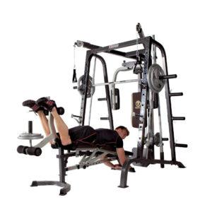 Deluxe Diamond Elite Smith Cage Total Body Gym 4