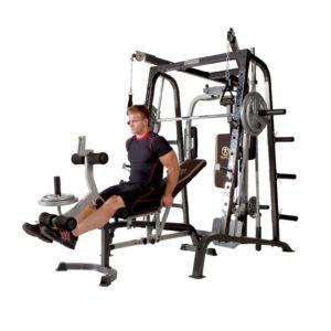 Deluxe Diamond Elite Smith Cage Total Body Gym 5