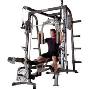 Deluxe Diamond Elite Smith Cage Total Body Gym 6
