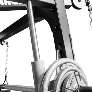 Deluxe Diamond Elite Smith Cage Total Body Gym 9